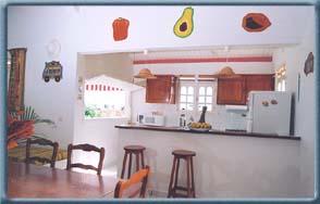 Top vacances location touristique de maisons et bungalow for Cuisine avec bar americain